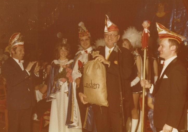 Session 1972/1973 - Gründung des Faschingsclub Rain