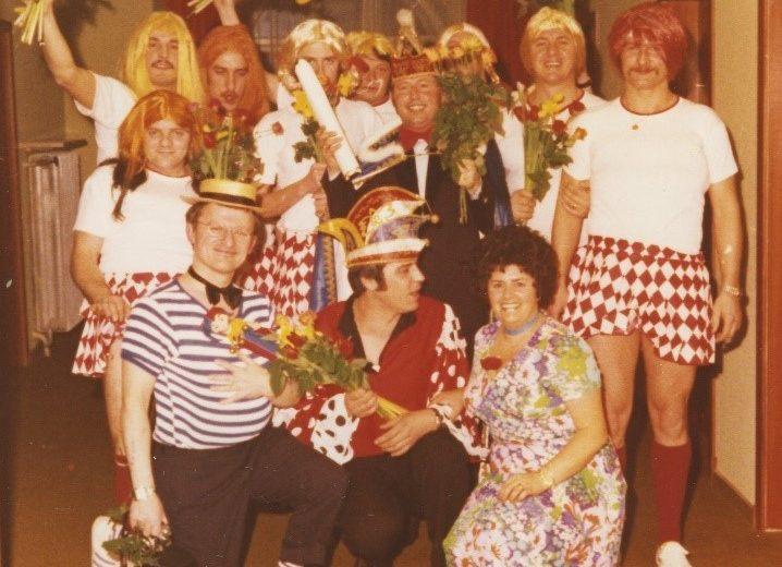 Session 1974/1975 - Ein lescheres Prinzenpaar