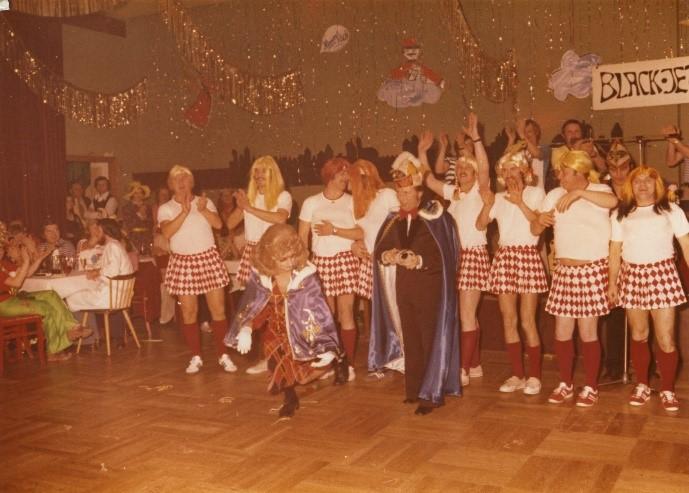 Session 1975/1976 - Das Prinzenpaar der Burgfunken
