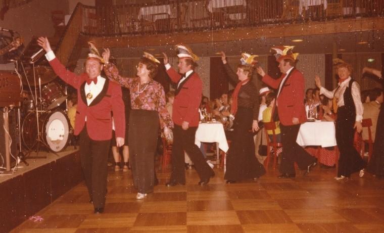 """Session 1977/1978 - Der erste """"Ritter Sieh auf"""""""