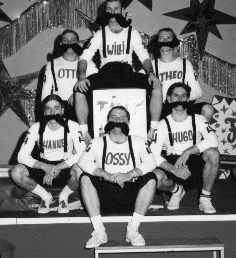 Session 1978/1979 - Der erste Rosenball im Lutzsaal