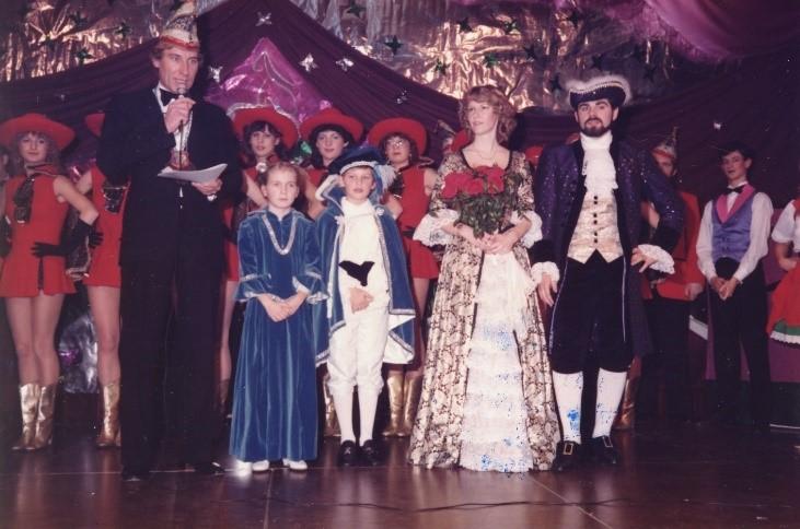 Session 1982/1983 - Die erste Jugend-Prinzen-Garde