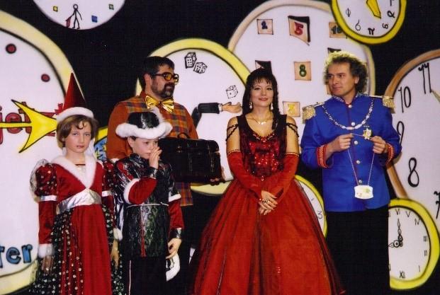Session 2001/2002 - Ein Heiratsantrag auf der Bühne